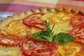 tomato cheese tart